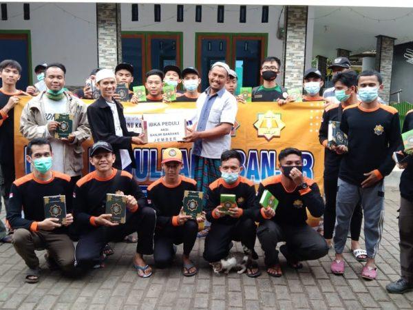 Armada Ibka Peduli Menyalurkan Bantuan Untuk Korban Banjir Wonoasri