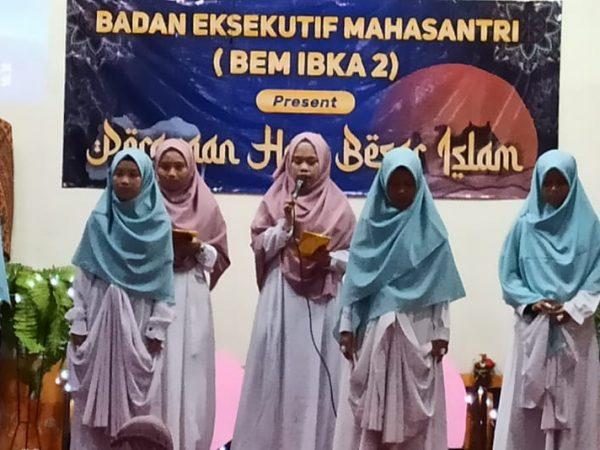 """Peringatan Isra' Mi'raj PPA Ibka 2 : """"Perlombaan Untuk Menambah Kecintaan"""""""